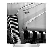 1940 Nash Grille Shower Curtain