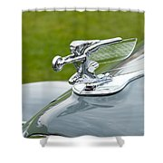 1940 Packard Shower Curtain