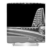1947 Kaiser-frazer Hood Ornament Shower Curtain