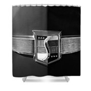 1948 Studebaker Emblem Shower Curtain