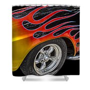 1948 Studebaker Starlight Coupe Shower Curtain