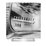 1949 Chevrolet 3100 Pickup Truck Emblem Shower Curtain