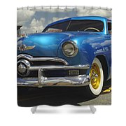 1950 Ford Automobile Shower Curtain