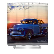 1951 Chevy Pick Up Shower Curtain