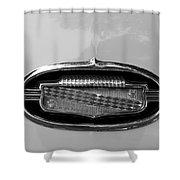 1952 Buick Eight Emblem Shower Curtain
