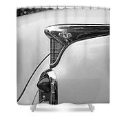 1952 Buick Eight Tail Light Shower Curtain