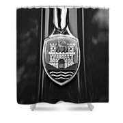 1952 Volkswagen Vw Emblem Shower Curtain