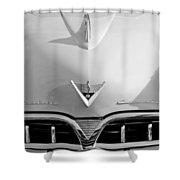 1953 Studebaker Emblem Shower Curtain