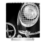 1954 Chevrolet Corvette Head Light Shower Curtain