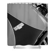 1954 Kurtis-kraft 500s Continuation Hood Emblem Shower Curtain