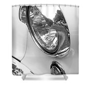 1955 Buick Special Headlight Shower Curtain
