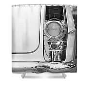 1955 Buick Special Tail Light Shower Curtain