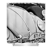 1956 Volkswagen Vw Bug Shower Curtain