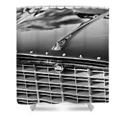 1957 Chrysler 300c Grille Emblem Shower Curtain