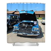 1958 Buick Shower Curtain