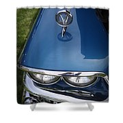 1958 Buick Super 56r Shower Curtain