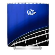 1959  Ac Ace Bristol Grille Emblem Shower Curtain