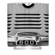 1959 Bmw 600 Isetta Emblem Shower Curtain