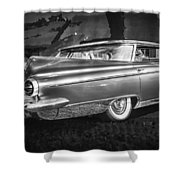 1959 Buick Electra 225 Bw Shower Curtain