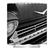 1959 Chevrolet Apache Front End Shower Curtain