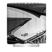 1960 Cadillac Eldorado Taillights Shower Curtain