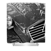 1961 Citroen 2cv Landaulet Hood Emblem Shower Curtain