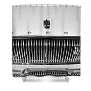 1962 Dodge Dart Grille Emblem Shower Curtain