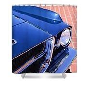 1962 Ghia L6.4 Coupe Grille Emblem Shower Curtain
