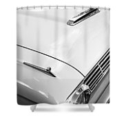 1963 Ford Falcon Futura Convertible Hood Shower Curtain by Jill Reger