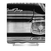 1963 Plymouth Sport Fury Taillight Emblem Shower Curtain
