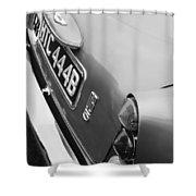 1964 Aston Martin Db5 Coupe' Taillight Shower Curtain
