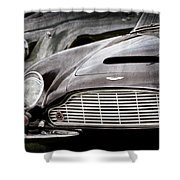 1965 Aston Martin Db6 Short Chassis Volante Grille Shower Curtain