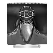 1965 Buick Riviera Hood Ornament Shower Curtain