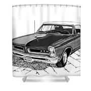 1965 Pontiac G T O Convertible Shower Curtain