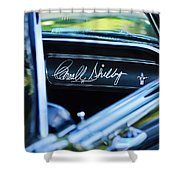 1965 Shelby Prototype Ford Mustang Carroll Shelby Signature Shower Curtain