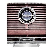 1966 Plymouth Barracuda - Cuda - Emblem Shower Curtain