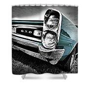 1966 Pontiac Gto Shower Curtain