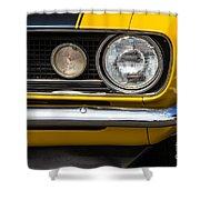 1967 Camaro Headlight Shower Curtain