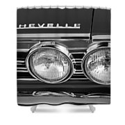 1967 Chevrolet Chevelle Super Sport Emblem Shower Curtain