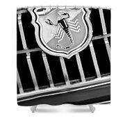 1967 Fiat Abarth 1000 Otr Emblem Shower Curtain