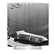 1967 Jaguar E-type 4.2 Liter Series 1 Roadster Taillight Shower Curtain