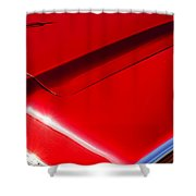 1967 Lincoln Continental Hood Ornament Shower Curtain