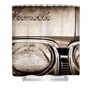 1968 Chevrolet Chevelle Hood Emblem Shower Curtain