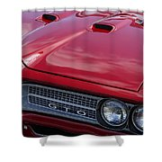 1968 Gto Shower Curtain