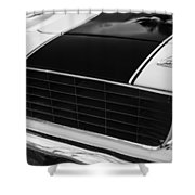 1969 Chevrolet Camaro Rs-ss Indy Pace Car Replica Grille - Hood Emblems Shower Curtain