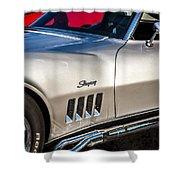 1969 Chevrolet Corvette 427   Shower Curtain