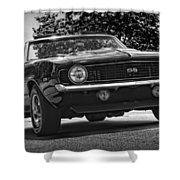 1969 Chevy Camaro Ss Shower Curtain