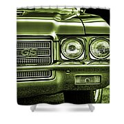 1971 Buick Gs Shower Curtain