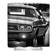 1972 Dodge Challenger Shower Curtain