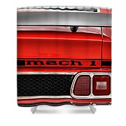 1973 Ford Mustang Mach 1 Shower Curtain
